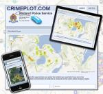 Midland Police launches CrimePlot.com as tool for the community to visualize crime and police calls for service.
