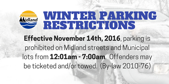 Winter Parking Restrictions In Effect